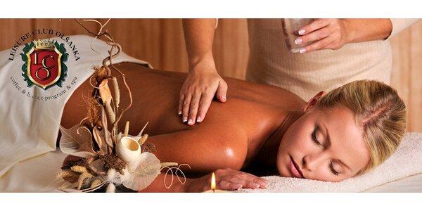 Olejová regenerační masáž celého těla (60 minut)