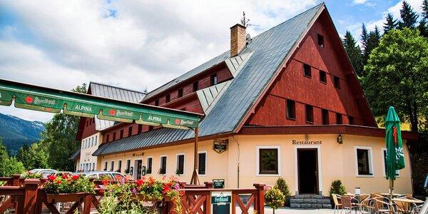 Léto v Krkonoších - polopenze, wellness i sauna