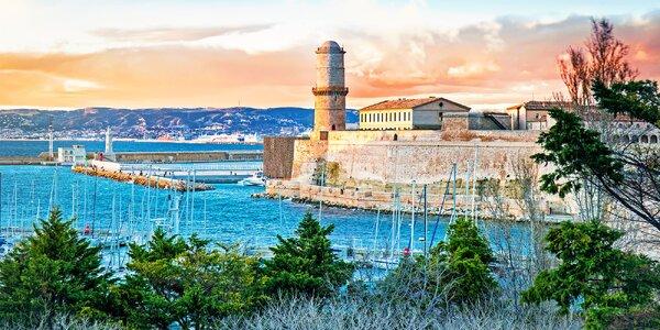 Marseille a ostrov Porquerolles vč. snídaně