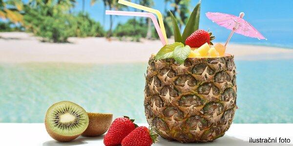 Svěží míchané drinky jako z Karibiku