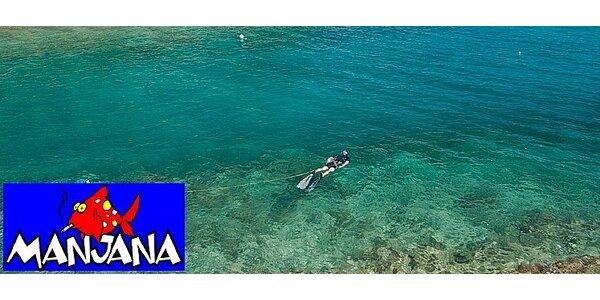 Dovolená s kurzem potápění na ostrově Brač v Chorvatsku