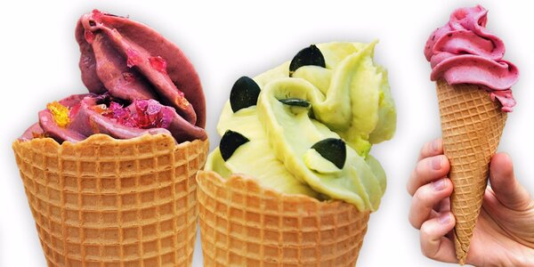 Raw točená zmrzlina bez lepku a laktózy