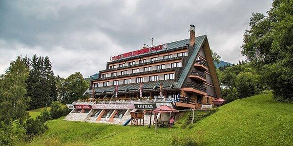 Letní pobyt ve Špindlu s wellness a polopenzí