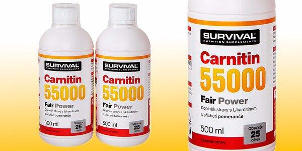 Doplněk pro sportovce Carnitin 55000 Fair Power