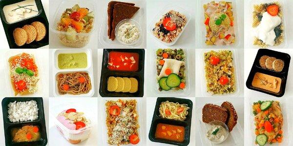 Vyvážené a chutné Fitness Food menu s dopravou