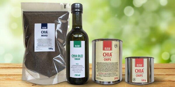 Superpotraviny z chia semínek