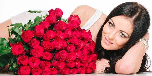 Kytice růží Red Naomi – doručení po celé ČR