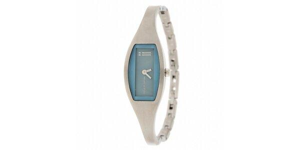 Dámské náramkové hodinky Marc O´Polo se světle modrými detaily