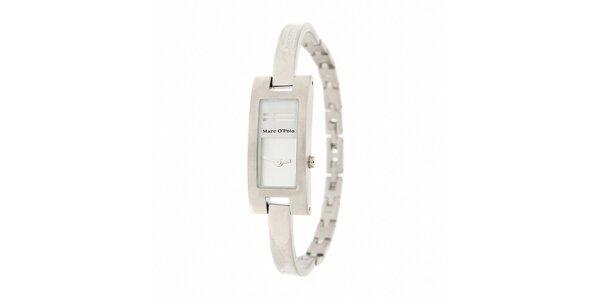 Dámské náramkové hodinky Marc O´Polo s bílými detaily