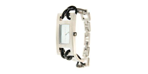 Dámské náramkové hodinky Marc O´Polo s koženým řemínkem a modrým sklíčkem