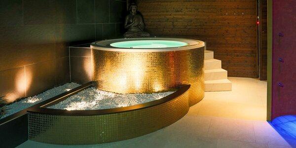 Privátní wellness pro dva v hotelu Golden Fish