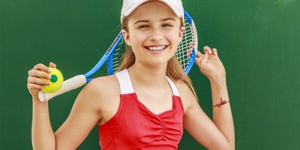 Zábavný příměstský tábor: Za 5 dní tenistou