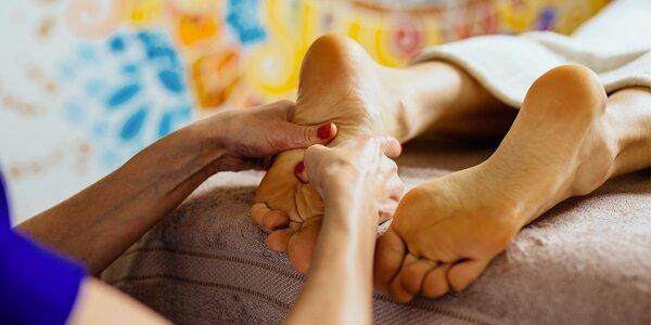 50minutová sportovní masáž pro unavené nožky