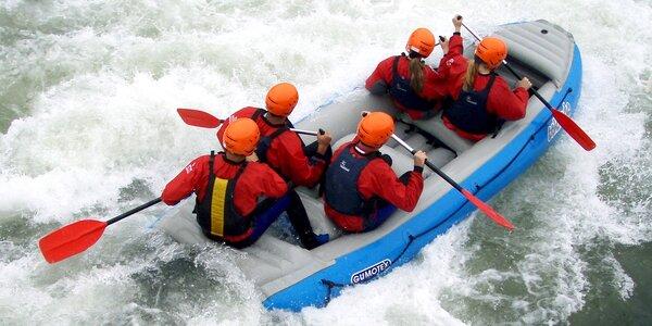 Raftování s instruktorem na slovenské řece Váh