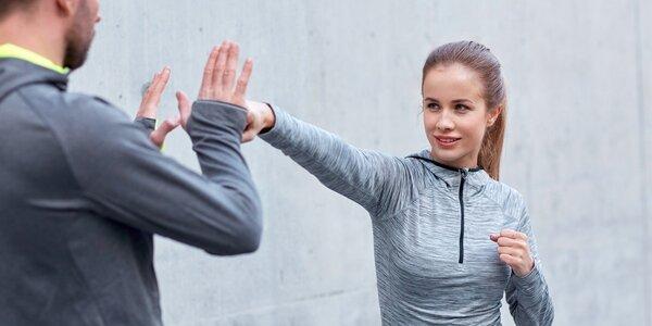 8hodinový kurz sebeobrany pro muže i ženy