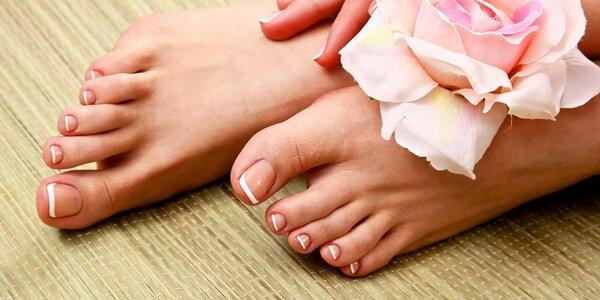 Přístrojová pedikúra a masáž chodidel
