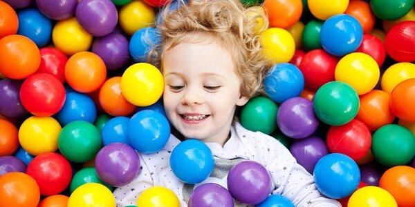 Celodenní hrátky v dětské herně Safari Tábor