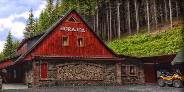 6 podzimních dnů s plnou penzí v chatě Horajda
