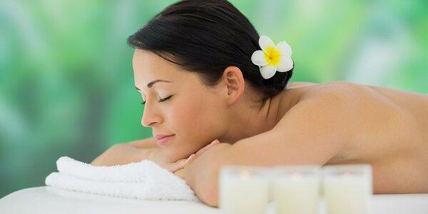 50minutová energetická masáž