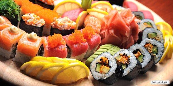 Letní sushi set na odnos s sebou