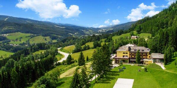 Relax i sport v rakouských Alpách s polopenzí