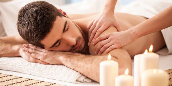 Relaxačně-rekondiční masáž zad, šíje a nohou