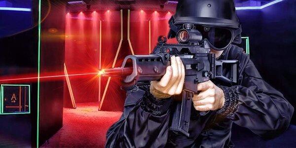 Laserová střílečka ve sci-fi aréně ve Zlíně