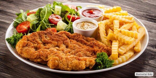 Obědové hotovky v jídelně U Bradů