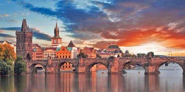 Až 4 dny v Praze se snídaní i programem
