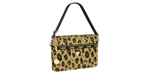 Dámský bal na laptop s leopardím potiskem LeSportsac
