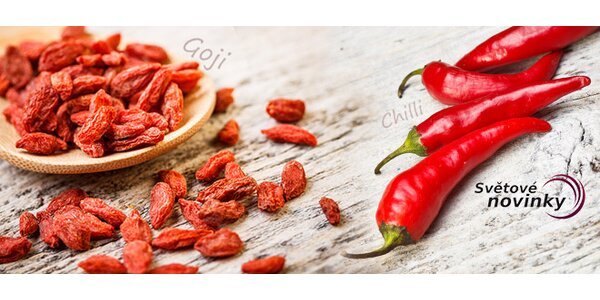 Exotika v květináči. Pěstujte vlastní chili nebo goji