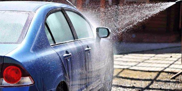 Bohatý výběr mycích programů pro vaše auto