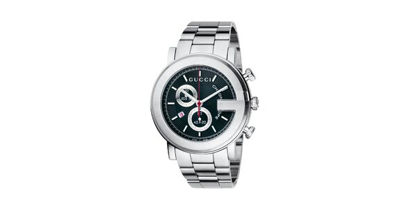 Luxusní pánské tmavě modré hodinky Gucci I-Gucci