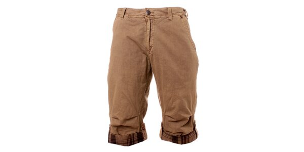 Pánské béžové šortky Exe