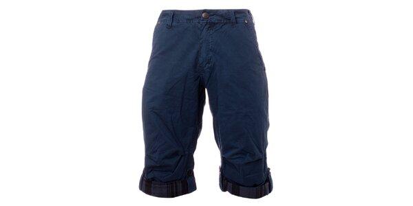 Pánské petrolejově modré šortky Exe