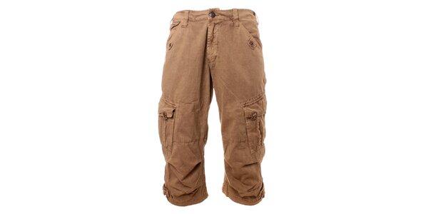 Pánské béžové krátké kalhoty Exe