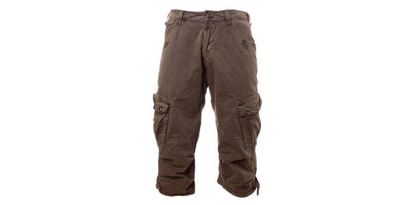 Pánské olivové krátké kalhoty Exe