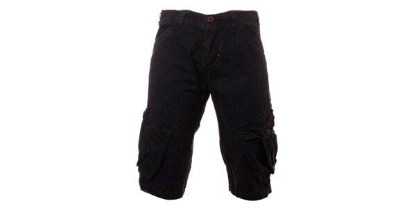 Pánské šedé šortky Exe
