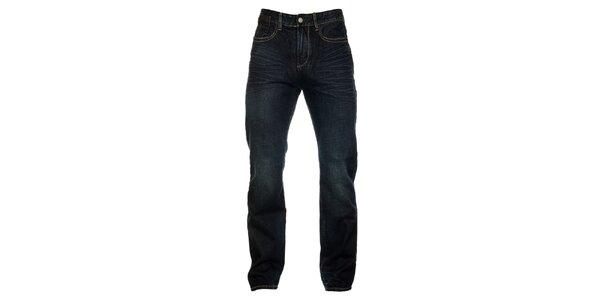 Pánské tmavě modré džíny Exe