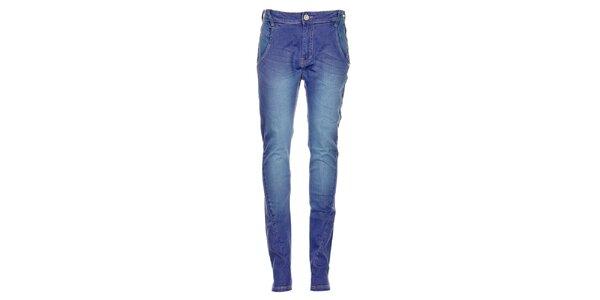 Dámské modré džíny Exe