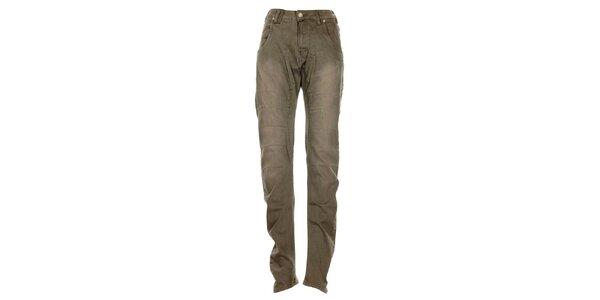 Dámské šedé džíny s lehce sníženým sedem Exe