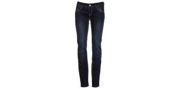Dámské úzké tmavě modré džíny Exe