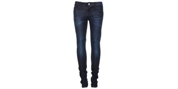 Dámské tmavě modré džíny Exe