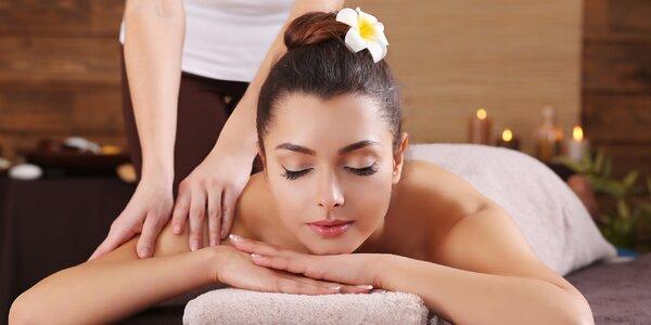 Relaxační masáž a celý den ve wellness centru