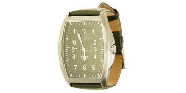 Pánské analogové hodinky se zeleným páskem Marc O´Polo