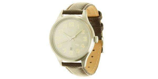 Pánské analogové hodinky s koženým páskem Marc O´Polo