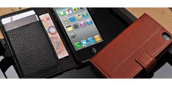 Pouzdro na iPhone z pravé kůže