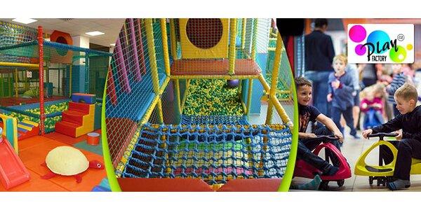Celodenní vstup do dětského centra Play Factory