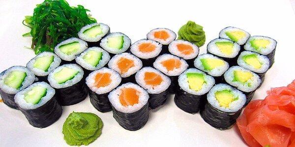 Barevný sushi set pro gurmány