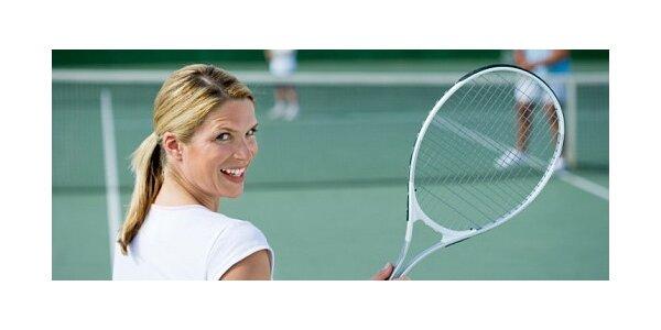 Dvě hodiny tenisu v Praze